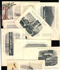 SPANISH AMERICAN WAR NAVY SHIP WARSHIP ITALY ORIGINAL COMPLETE SET 20 POSTCARDS