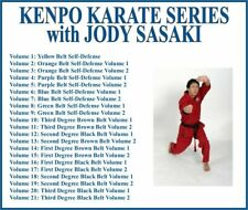 KENPO KARATE Training Series (21) DVD Set self defense yellow to black belt