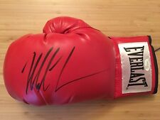 MIKE TYSON HAND SIGNED 16 OZ EVERLAST BOXING GLOVE - JSA AUTHENTICATED
