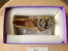 Miniature Shoes. Raine's Just The Right Shoe. Afternoon Tea. In box, W/ papers