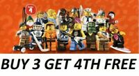 LEGO MINIFIGURES SERIES 4 8804  PICK CHOOSE YOUR OWN + BUY 3 GET 1 FREE
