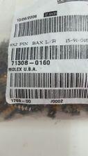 163 X MOLEX 71308-0160 CONN HEADER SMD 60POS 2.54MM