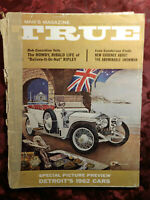 TRUE November 1961 61 Robert Ripley 1962 Cars Melbourne Brindle Ivan Sanderson