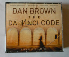 DAN BROWN - THE DA VINCI CODE 5 CD AUDIOBOOK  - ABRIDGED - 2004 - GOOD CONDITION