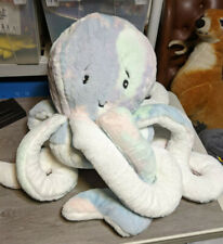 Frolics Deluxe Giant Plush Pastel Octopus Stuffed Animal Toy Soft Pillow, HUGE