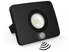 SuperSlim LED Fluter IP65 mit Bewegungsmelder - 10W 750lm kaltweiß Flutlicht