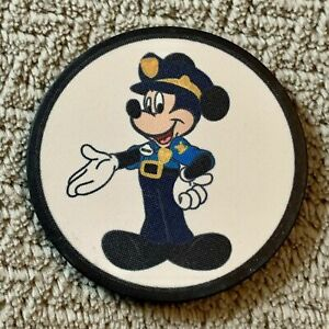 RARE MICKEY MOUSE SECURITY OFFICER POKER CHIP NOT A METAL CHALLENGE COIN