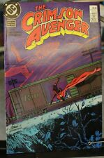 The Crimson Avenger Four Issue Mini-Series #2 JULY 88 DC Comics