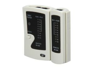 Rosewill RTK-006 - Cable Tester NEW!! 10Base RJ11 RJ45 258A TIA-568A/568B