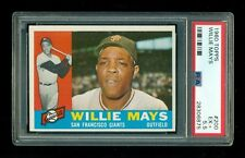 1960 Topps WILLIE MAYS #200 PSA 5.5 NICE Corners & Edges! Should be 6 or 7!
