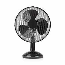 Ventilatore da Tavolo | Diametro 30 cm | 3 Velocità | Funzione di Oscillazion...