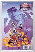 Marvel Rising Ms. Marvel & Squirrel Girl #1 Variant Cover Error RECALLED ISSUE!