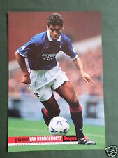 GIOVANNI VAN BRONCKHORST - RANGERS - 1 PAGE PICTURE - CLIPPING /CUTTING