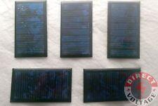 5 PCS 0.38W 4.5V 85mA Mini Solar Panel Module Epoxy Cell Charger DIY