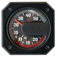 RICHTER Bimetall Thermometer Relief Skala justierbar selbstklebend HR Art. 7290