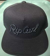 8966ca16e608c4 NEW RIP CURL SURF SAND SPIT SNAP BACK NAVY COTTON CAP HAT 1SIZE BALL CAP  ZY364