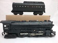 Lionel #685 4-6-4 Hudson Steam Locomotive & 6026W Tender O,O-27 Gauge