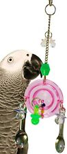 1802 DROID BIRD TOY parrot cage toys cages plastic cockatiel conure african grey