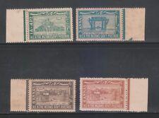 India Hyderabad State KGVI. 1947-49, SG55,56,57 & 57a (4V) MNH Complete Set.
