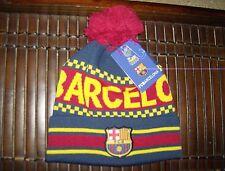 Licensed FC Barcelona Pom Beanie
