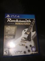 Sony PS4 Rocksmith Remastered Video Game 2014 Edition