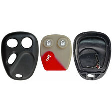 New Replacement Remote Key Keyless Entry Fob Shell Case Housing Buttons For GM