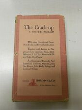 F. Scott Fitzgerald The Crack-up New Directions 1945 in Jacket Later printing