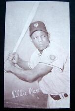 1947-1966 Arcade Exhibit Card Baseball Willie Mays New York Giants