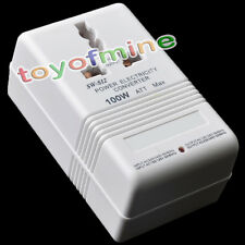 New 220V/110V Step Down/Up US 100W Power Converter Transformer Voltage Converter