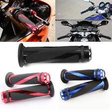 "MOTORCYCLE 7/8"" HAND GRIPS HANDLE BAR GEL FOR YAMAHA R1 R6 HONDA CBR600RR 1000RR"