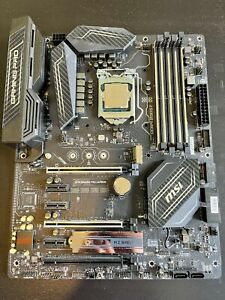 Intel Core i7-7700K CPU & MSI Z270 Gaming Pro Carbon Motherboard Combo