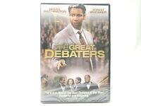 The Great Debaters DVD 2008 Drama Movie Denzel Washington Forest Whitaker NEW