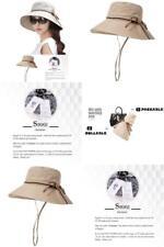 Siggi Bucket Cord Sun Summer Beach Hat with Wide Brim for Women Foldable UPF50+