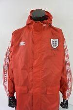 UMBRO ENGLAND 1996 Rain Red Jacket zipper SIZE M (adults)