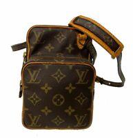 Auth Louis Vuitton Monogram Mini Amazon Shoulder Bag LV B-1035