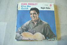 "ELVIS PRESLEY""KISS ME QUICK-disco 45 giri RCA Ger 1963"""