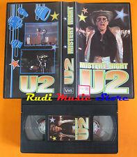 VHS U2 Mistery night BONO VOX cd mc dvd lp(VM6)