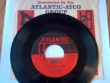 CLYDE MCPHATTER-ATLANTIC 1133 R&B45 JUST TO HOLD MY HAND B/W NO MATTER WHAT VG++