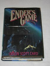Ender's Game Orson Scott Card Tor Jan 1985 True First edition 1st Print  HC/DJ