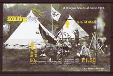 ISLE OF MAN 2007, CENTENARY OF SCOUTING, FINE USED MINIATURE SHEET