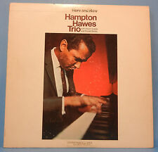 HAMPTON HAWES TRIO HERE AND NOW LP '66 MONO ORIGINAL PRESS PLAYS GREAT! VG/VG+!!