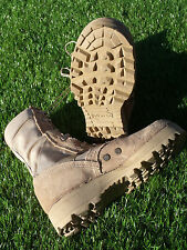 USGI Military Army Desert Sand Hot Weather US Made Combat Boots 6 R VGC #31