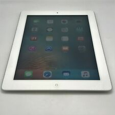 Apple iPad 3rd Generation 64GB White AT&T Unlocked Good Condition - Engraving