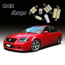 12Pcs White Interior LED Light Bulbs Package Kit for  Nissan Altima 2002-2006