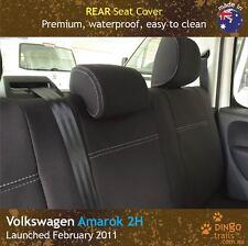 Volkswagen VW Amarok (Feb 11-now) REAR Premium Tough Neoprene Seat Cover