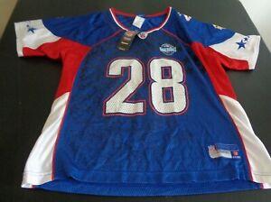 ADRIAN PETERSON Vikings 2008 Pro Bowl REEBOK Replica Women's L Jersey NFL New