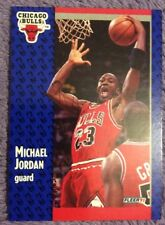 🏀 1991 Fleer Chicago Bulls #29 Michael Jordan Basketball Card