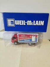 (SET-4) WEIL-McLAIN 125TH ANNIVERSARY DIE CAST 1918 FORD,1951,GMC HORSE &WAGON