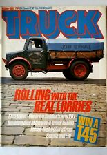 TRUCK of 10/1982; Rolling With the Real Lorries/ Win A T45/  Tested-High Rollers