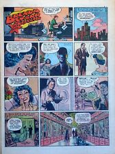 Brenda Starr by Dale Messick - full tab page color Sunday comic - Feb. 27, 1955